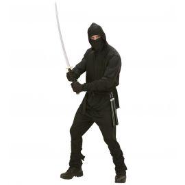 Disfraz ninja negro adulto