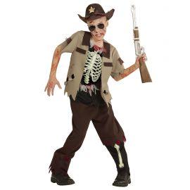 Disfraz vaquero zombie