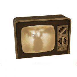 Televisor terror con luz y sonido