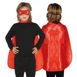 Capa 55cm roja infantil
