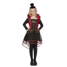 Disfraz señorita roja infantil