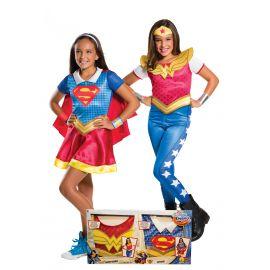 Disfraz supergirl y w woman inf
