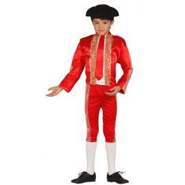 Disfraz torero infantil rojo