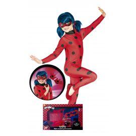 Disfraz ladybug caja con peluca