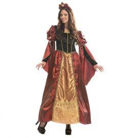 Disfraz dama barroca medieval