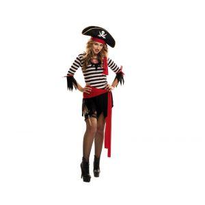 Disfraz piratesa traviesa m-l