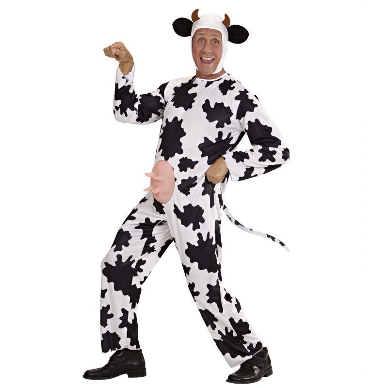 Disfraz De Vaca Talla Grande