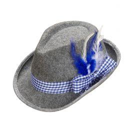 Sombrero tiroles bavaro con plumas