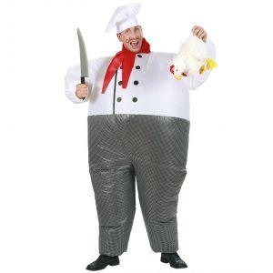 Disfraz chef hinchable