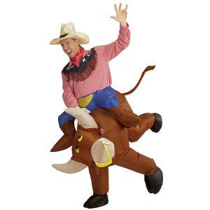 Toro loco hinchable