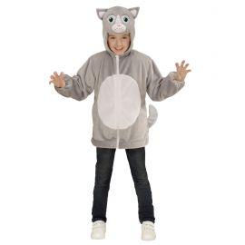 Disfraz gato infantil cremallera