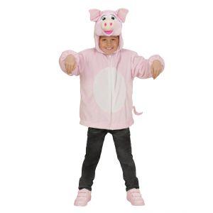 Disfraz cerdo infantil cremallera