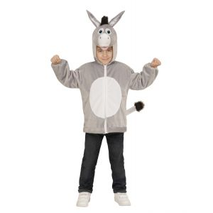Disfraz burro infantil cremallera