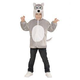 Disfraz lobo infantil cremallera