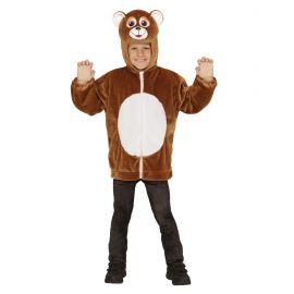 Disfraz oso infantil cremallera