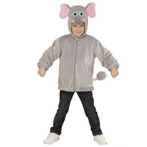 Disfraz elefante infantil cremallera