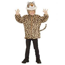 Disfraz leopardo infantil cremallera
