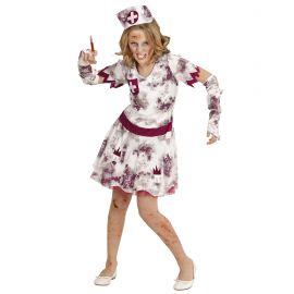 Disfraz enfermera zombie infa