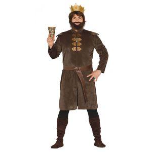 Disfraz rey medieval tunica adulto