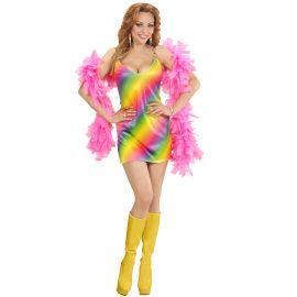 Disfraz arcoiris chica