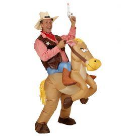 Disfraz caballo hinchable