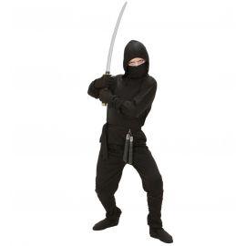 Disfraz ninja negro infantil