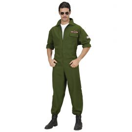 Disfraz piloto jet adulto
