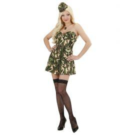 Disfraz soldado chica corse