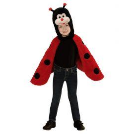 Disfraz poncho mariquita 2-4 años