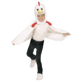 Disfraz pollo poncho 2 años