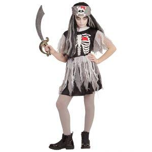Disfraz piratesa zombie infan