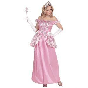 Disfraz princesa fascinante rosa