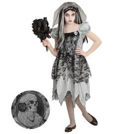 Disfraz esposa fantasma infantil
