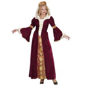 Disfraz reina medieval