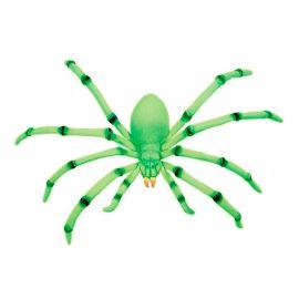 araña moldeable gigante 70cm fluorescente