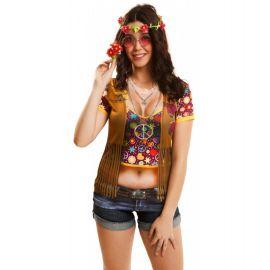 Camiseta hippie chica