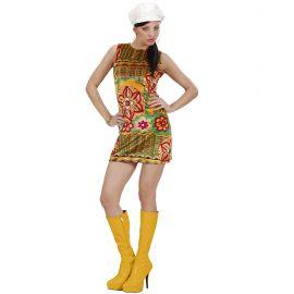 Disfraz años 60 boina chica