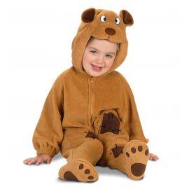 Disfraz bebe oso marron 1-2 años