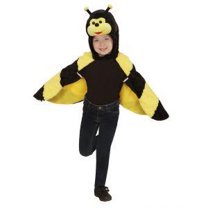 Disfraz poncho abeja 2-4-años