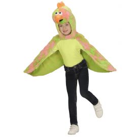 Disfraz poncho canario 2-4 años