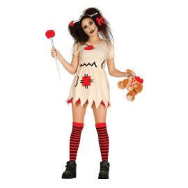 Disfraz muñeca woodoo 38-40