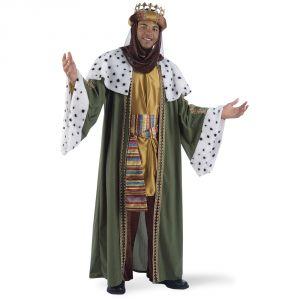 Disfraz rey mago baltasar deluxe