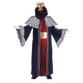 Disfraz rey mago gaspar deluxe adt