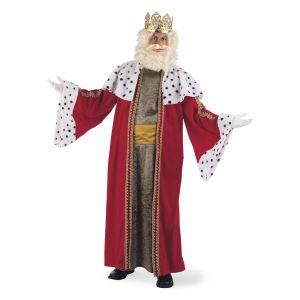 Disfraz rey mago melchor deluxe adt