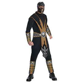 Disfraz scorpion mortal kombat
