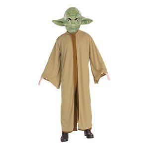 Disfraz yoda con mascara inf star wars
