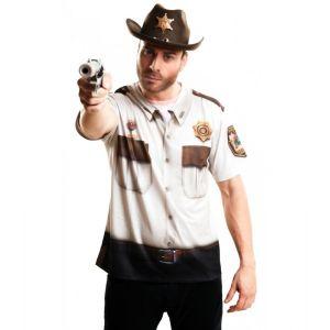 Camiseta sheriff vaquero