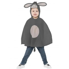 Disfraz poncho burro