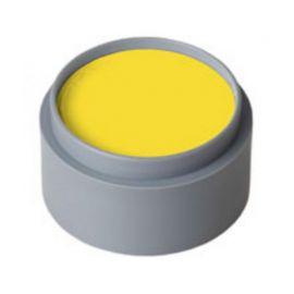 Maquillaje profesional al agua amarillo