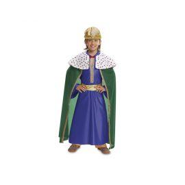 Disfraz rey mago azul inf